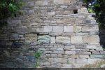 Détail de l'appareillage du mur (sud)