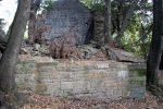 Restes du mur nord (10e siècle)