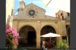 Porche et église Sainte Marie Majeure vue de l'extérieur