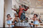 Statue de la Vierge montant au ciel