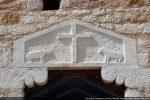 Linteau reconstitué s'inspirant de celui de San Pietro de Piazzole
