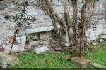Trace d'une niche ou d'une ouverture (mur nord)