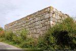 Pallier construit avec les blocs romans