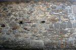 Traces de reconstruction (mur nord)