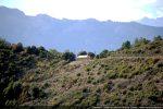 La chapelle est érigée sur un col à 900 m d'altitude entre Castellare-di-Mercurio et Santa-Lucia-di-Mercurio