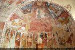 Le programme iconographique est traditionnel (Christ en majesté et collège des apôtres) mais la qualité esthétique est exceptionnelle