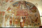 Il émane de ces fresques admirablement proportionnées à l'architecture, une grande harmonie et une atmosphère mystique