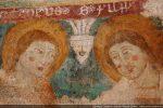 Détail de deux apôtres: Philippe et Taddée