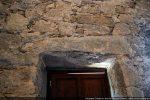 Linteau de la porte occidentale réutilisé au 16e siècle