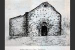 Dessin de la chapelle San Giovanni (publiée par F. Saravelli en 1965)