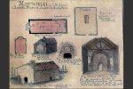 Entre 1886-1889, la chapelle avait encore son toit mais en mauvais état (planche XIII de Gaubert, coggia.com)