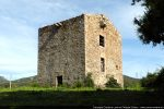 Vue de la tour, lieu de résidence, d'observation et de défense peut-être (re)construite par Alessandro d'Istria en 1653