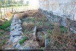 Tombes découvertes à l'intérieur de la basilique paléochrétienne (mur sud)