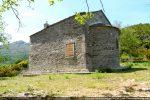 Mur sud avec une fenêtre percée sans doute à la fin du 17e siècle