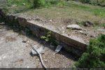 Mur latéral sud-ouest