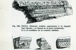 Quelques fragments sculptés retrouvés lors des fouilles (publiés par G. Moracchini-Mazel)