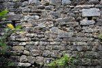 Détail du mur sud