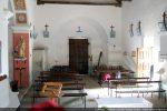 Nef vue vers l'est: vestige de la voûte qui couvrait l'abside du 13e siècle
