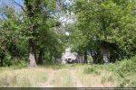 Situation de la chapelle Saint Cyprien perdue dans les arbres