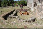 Petit édifice à abside abritant un baptistère (5e-6e siècles)