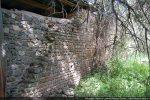 Mur aux assises bien régulières consolidées par la FAGEC en 1994