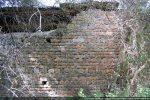 Mur nord de l'ancienne église: côté intérieur de l'édifice (fin 9e siècle ou première moitié du 11e siècle)