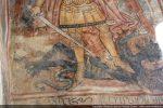 Détail du dragon fort semblable à celui d'Aregno