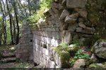 La voûte construite de petits blocs fait penser à celle de San Quilico de Montilati à Figari non loin