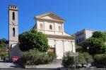 Vue de l'église Santa Maria reconstruite en 1854