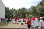 Arrivée de la procession à la chapelle Sainte Restitude