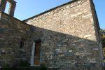 Mur sud avec sa porte