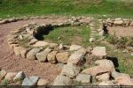 Détail de l'abside de l'édifice roman dont on ne connait pas le patronyme