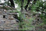 Reste de la fenêtre meurtrière (mur sud)