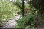 Sentier de randonnée longeant le ruisseau d'Acqua fredda