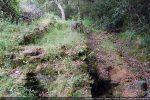 Découverte de murs antérieurs au 4e siècle (angle sud-ouest)