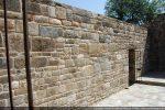 Intérieur du mur nord