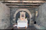 Intérieur de la petite nef se terminant par une abside voûtée en cul de four
