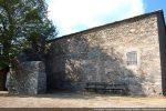 Mur sud portant les traces de modifications