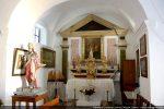 Chapelle latérale et statue de Saint Erasme