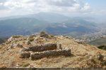 Oratoire dominant le village d'Appietto à 815 m d'altitude