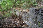 Mur nord nettement moins bien conservé