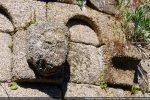 Petite tête humaine (avant restauration)