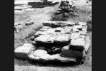 Piscine dégagée lors des fouilles (Cahier Corsica 151, 1992)