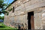 Porte et fenêtre du mur sud