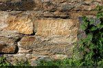Autre inscription sur mur sud