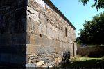 Mur sud vu de l'ouest: allignement des blocs