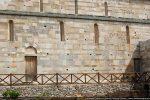 Mur sud percé de 10 fenêtres et de deux portes