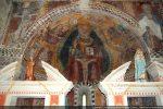 Abside décorée de fresques (15e siècle)