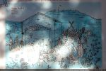 Panneau d'accueil: reconstitution de la chapelle et évocation de la fête de Saint André, patron de l'abondance