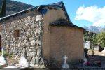 Angle sud-est avant restauration: appareil du mur bien visible